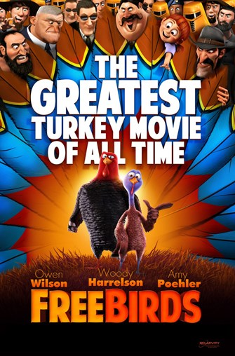 Free Birds Movie Showing